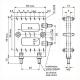 Lötleisten Solder Strips Technische Zeichnung ll029120