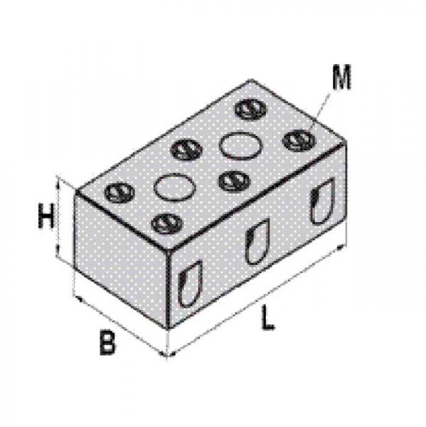 Keramikklemme Ceramic-Clamp Technische Zeichnung pl5243