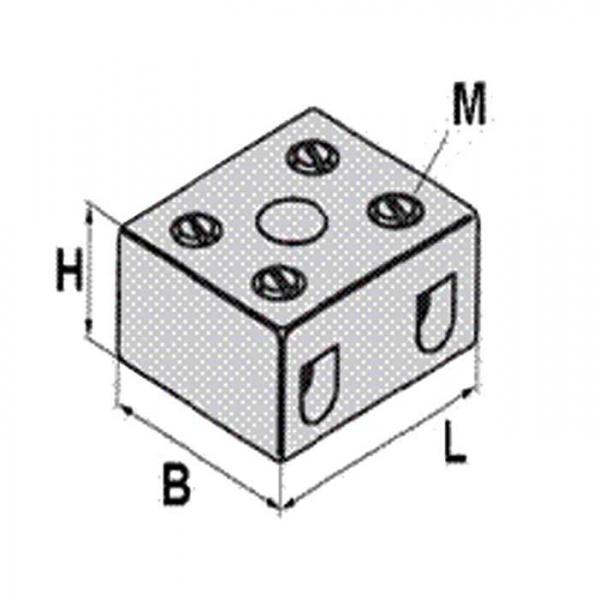 Keramikklemme Ceramic-Clamp Technische Zeichnung pl5242