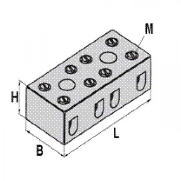 Keramikklemme Ceramic-Clamp Technische Zeichnung pl7464