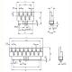 Lötleisten Solder Strips Technische Zeichnung ll024670